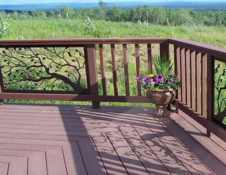Deck Railings Wrought Iron Works