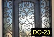 DO-23-wroughtirondoors
