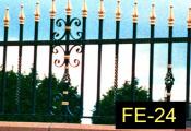 FE-24-wroughtirondoors