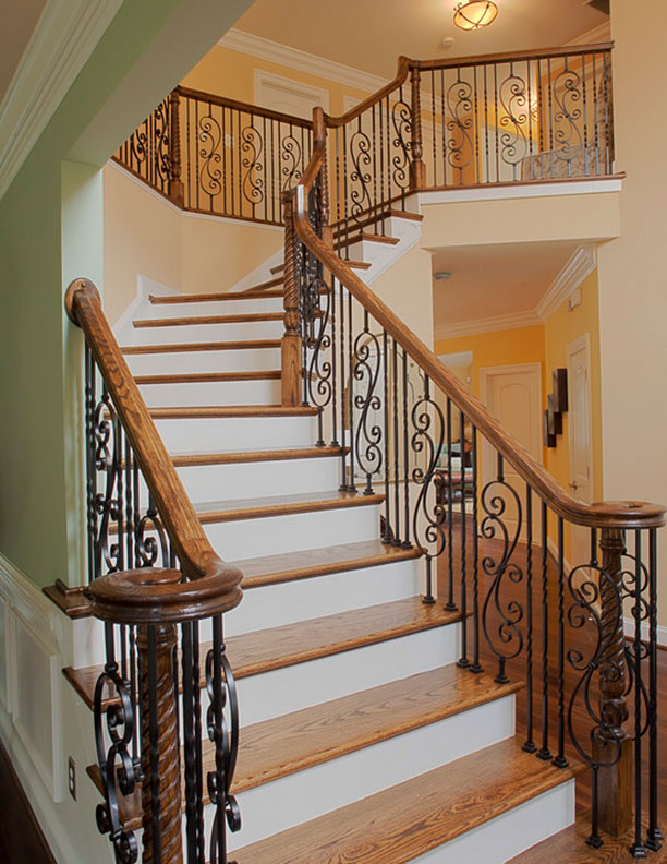 Indoor Railings Wrought Iron Works