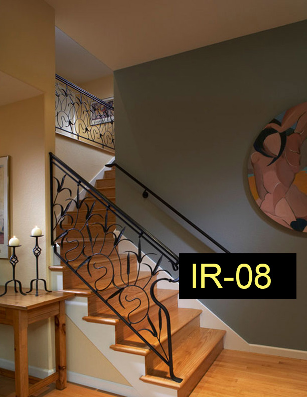Indoor Railings – Wrought Iron Works CT