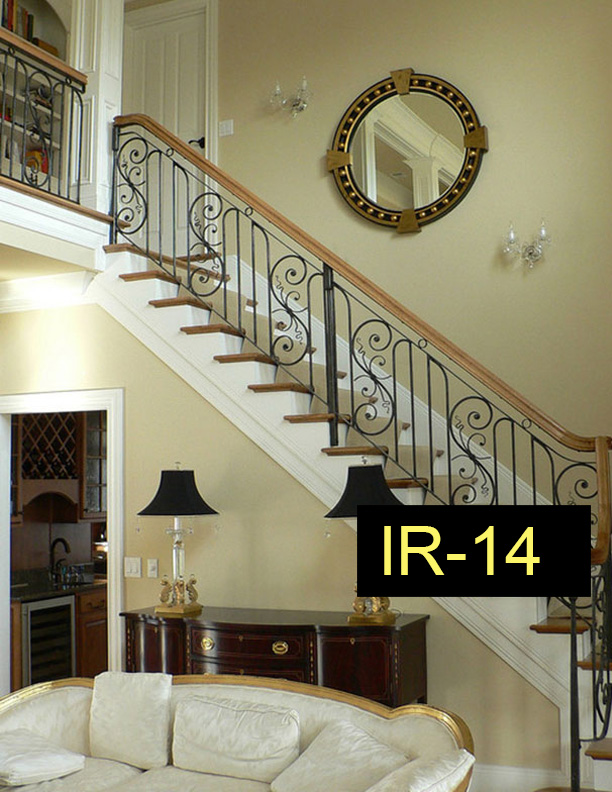 Indoor Railings Wrought Iron Works Ct
