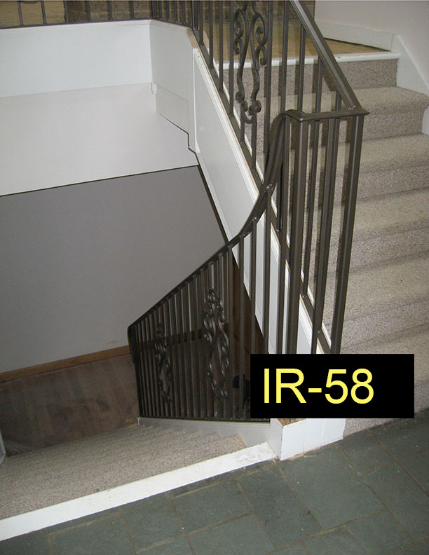Indoor Railings - Wrought Iron Works CT