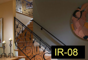 IR-08-wroughtironindoorrailing