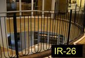 IR-26-wroughtironindoorrailing