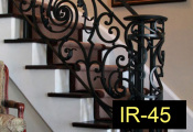 IR-45-wroughtironindoorrailing