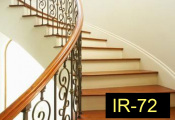IR-72wroughtironindoorrailing