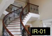 IR-01-wroughtironindoorrailing