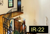 IR-22-wroughtironindoorrailing