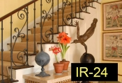 IR-24-wroughtironindoorrailing