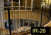 IR-26-wroughtironindoorrailing