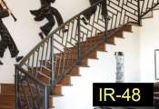 IR-48-wroughtironindoorrailing