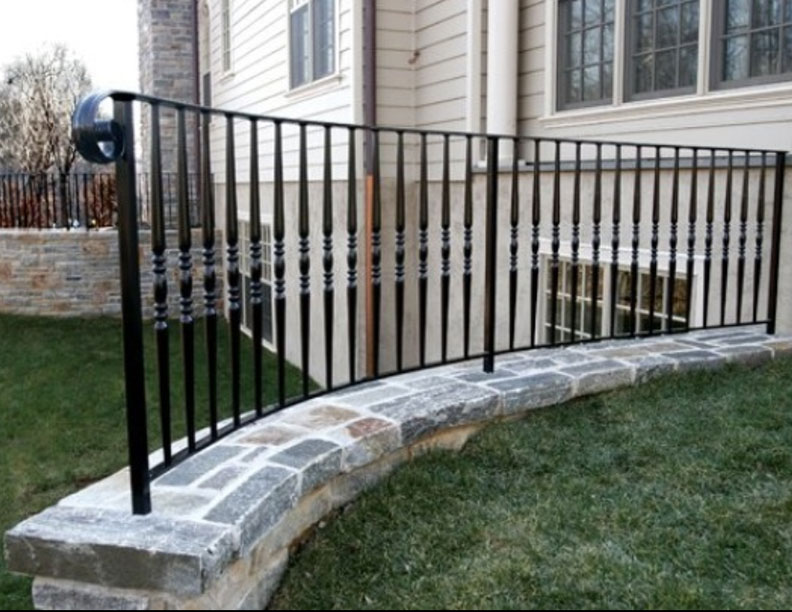 Outdoor Railings Wrought Iron Works