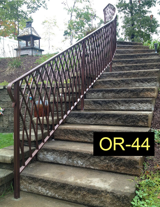 Outdoor Railings - Wrought Iron Works CT