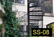 SS-08-wroughtironspiralstaircases