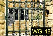 48wroughtironwalkwaygates
