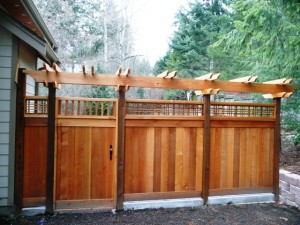 cedar fence installations