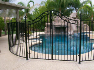 metal fence & gates